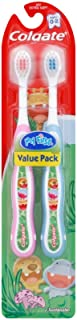 Colgate Kids My First Toothbrush, Extra Soft, 0-2 yrs - 2 ct
