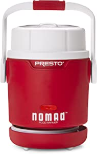 Presto 06015 Nomad Mason Jar Traveling Food Warmer, 1 Pint, Red