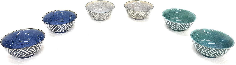 Set of High material gift 6 Porcelain Bowls