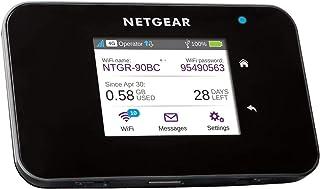 NETGEAR AC810 mobiele WLAN-router / 4G LTE-router (AirCard tot 600 Mbps downloadsnelheid, maximaal 15 apparaten met een ho...