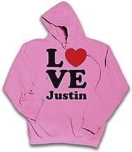 Sherbet Dip Love Justin Childrens Hoodie