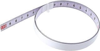 X-BAOFU, 1 st självhäftande metrisk stållinjal geringssåg skala geringspån måttband för T-spår router bordssåg bandsåg trä...