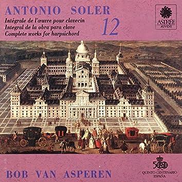 Soler: L'œuvre pour clavecin, Vol. 12 (Clavecin Michael Johnson, Fontmell Magna, 1979, d'après Pascal Taskin, Paris 1764)