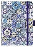 Premium Timer Big 'Orient Mosaik' 2021: Hochwertiger Buchkalender. Terminplaner mit Wochenkalendarium, Gummiband und Stifthalter. 12 x 17 cm