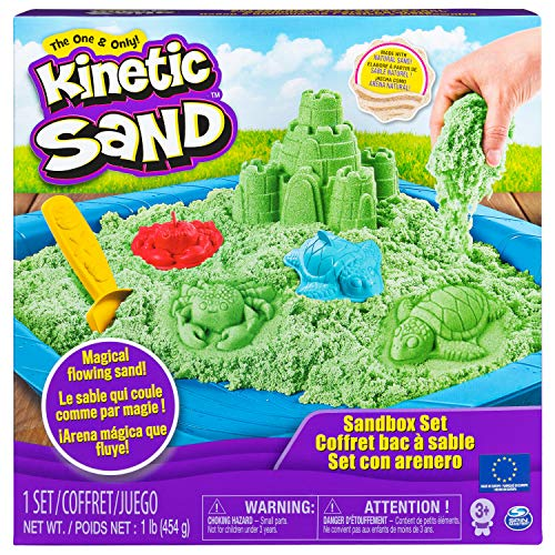Kinetic Sand 6029059 - Box grün