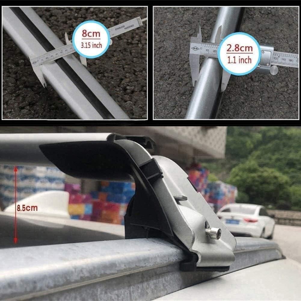 Mmhot Ma/ßgeschneidert for V90 Aluminiumlegierung Dachtr/äger Querstange Dachspannstangen Kompatibel mit V90 2017-20 Cross Country Size : for Volvo V90cc 2017