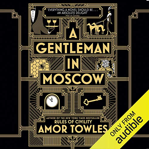 A Gentleman in Moscow audiobook cover art