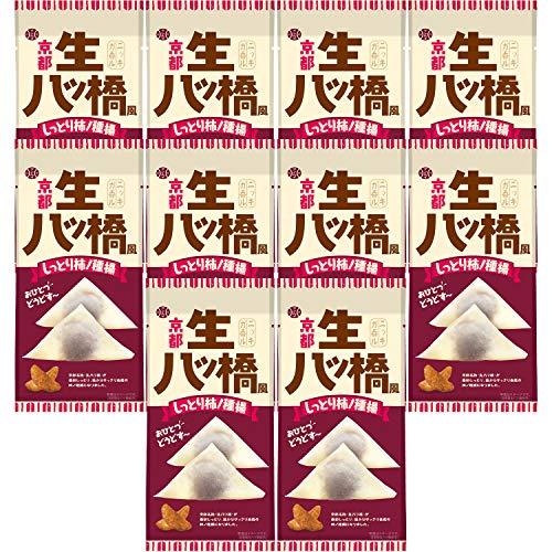 アイデアパッケージ 京都 生八ッ橋風 柿ノ種揚スリムパック 45g ×10個