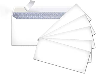 AmazonBasics #10 Security-Tinted Envelopes with Peel & Seal, White, 500-Pack