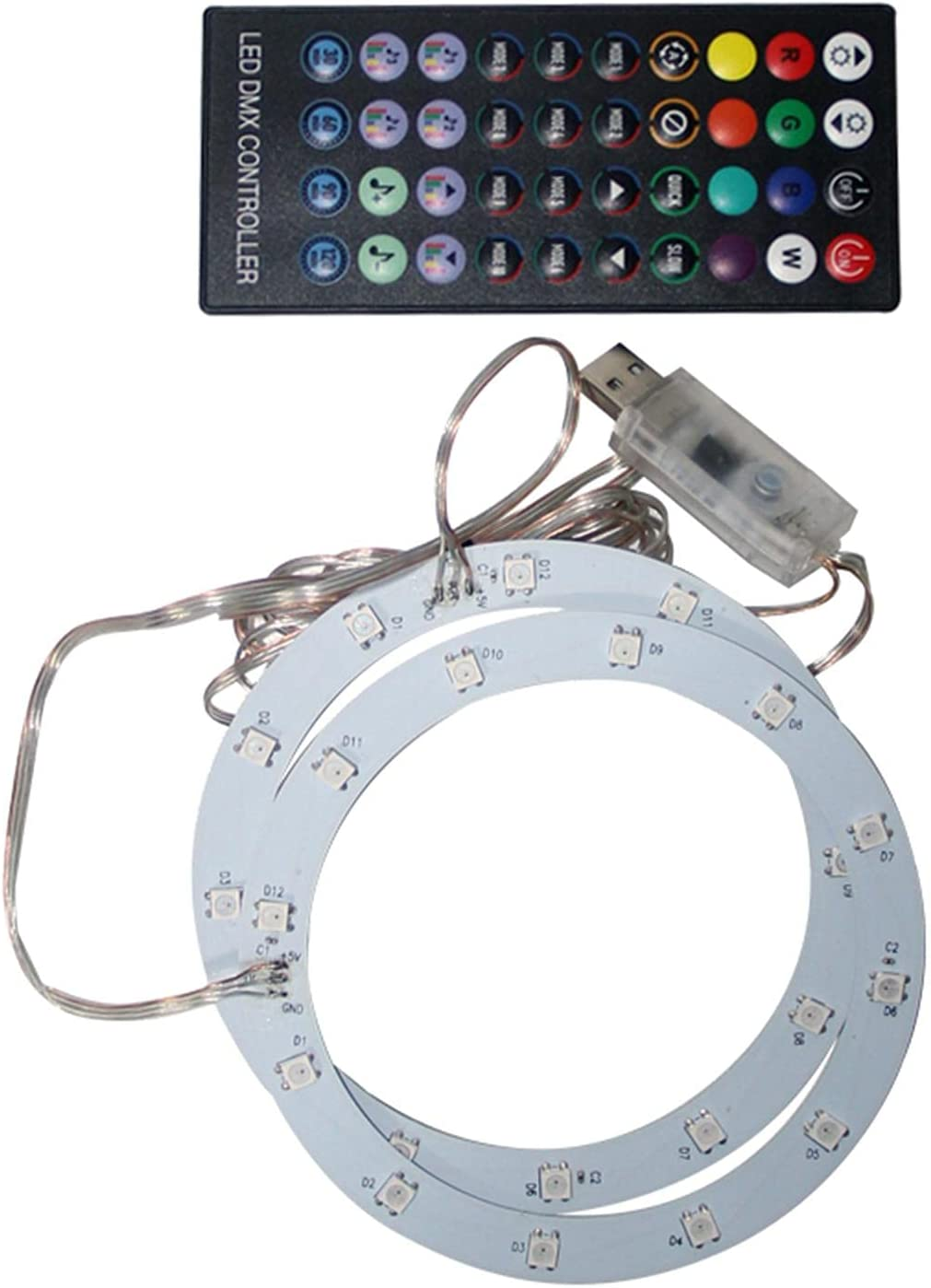 Xiaoyaoyou RGB LED Light 4 Max 57% OFF years warranty Strip for 358 Lig Colors 8 Console PS5