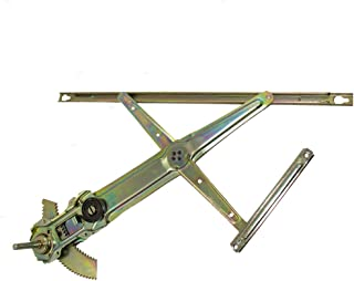 Manual Window Lift Regulator Assembly Driver Front Replacement for 96-00 Honda Coupe Hatchback 72250-S00-003
