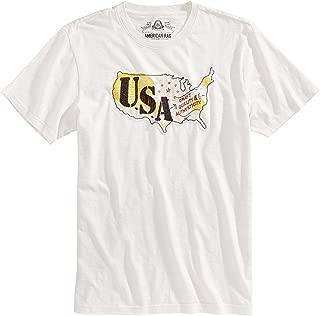 American Rag Men's USA Embroidered T-Shirt