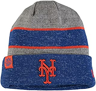 new product 88d35 968f6 New York Mets New Era On Field Sport Knit Beanie Heathered Gray Heathered  Royal