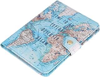UNWSTYU /Étui de Protection pour Carte didentit/é pour Femme Bleu Bleu - 3TT700689-BL/_ZRB