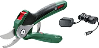 Bosch 06008B2040 Cordless Powered Secateurs Easy Prune (Integrated LithiumIon Battery, 3.6 Volt, in Blister Pack)