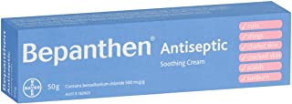 Bepanthen Antiseptic Soothing Cream, 50 grams