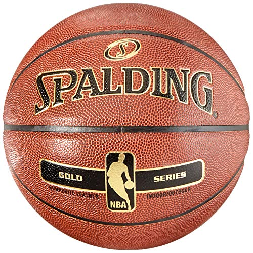 Spalding NBA Gold indoor/Outdoor Basketball, Größe 7