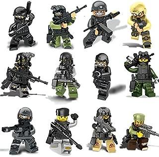 互換 ミニフィグ 12体セット 特殊部隊 傭兵