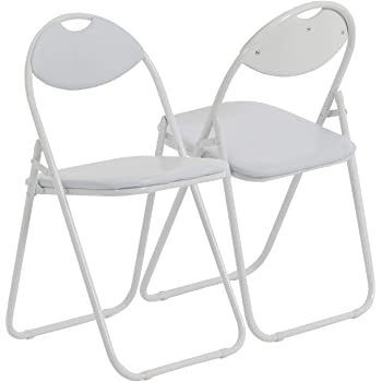Chaise pliante rembourrée pour le bureau entièrement