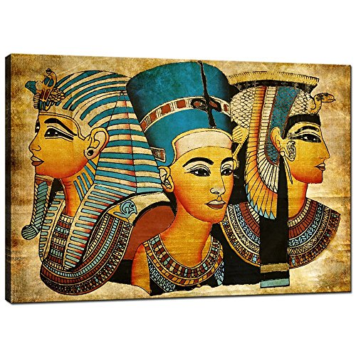Sea Charm - Egyptian Goddesses Epic,Surprise Ancient Vintage Canvas Wall Art Ready to Hang,Elegant Women Wall Art for Home Decor,Girl Canvas Prints