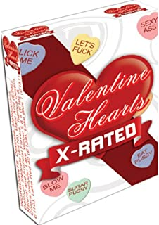 Valentines X Rated Heart Candy Assorted Sayings Eaches