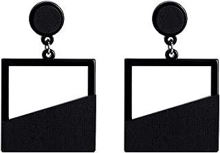 Hollow out Wooden Drop Earrings Fashion Gift Vintage Ethnic Boho geometric Dangle Earrings for Women Jewelry