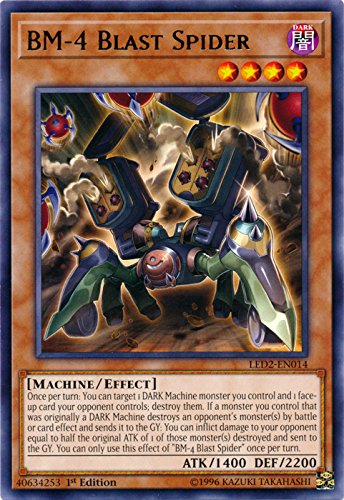 BM-4 Blast Spider - LED2-EN014 - Rare - 1st Edition - Legendary Duelists: Ancient Millennium (1st Edition)