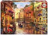 Educa Puzzle 1.500 piezas, Atardecer en Venecia, multicolor, 8+ (17124)