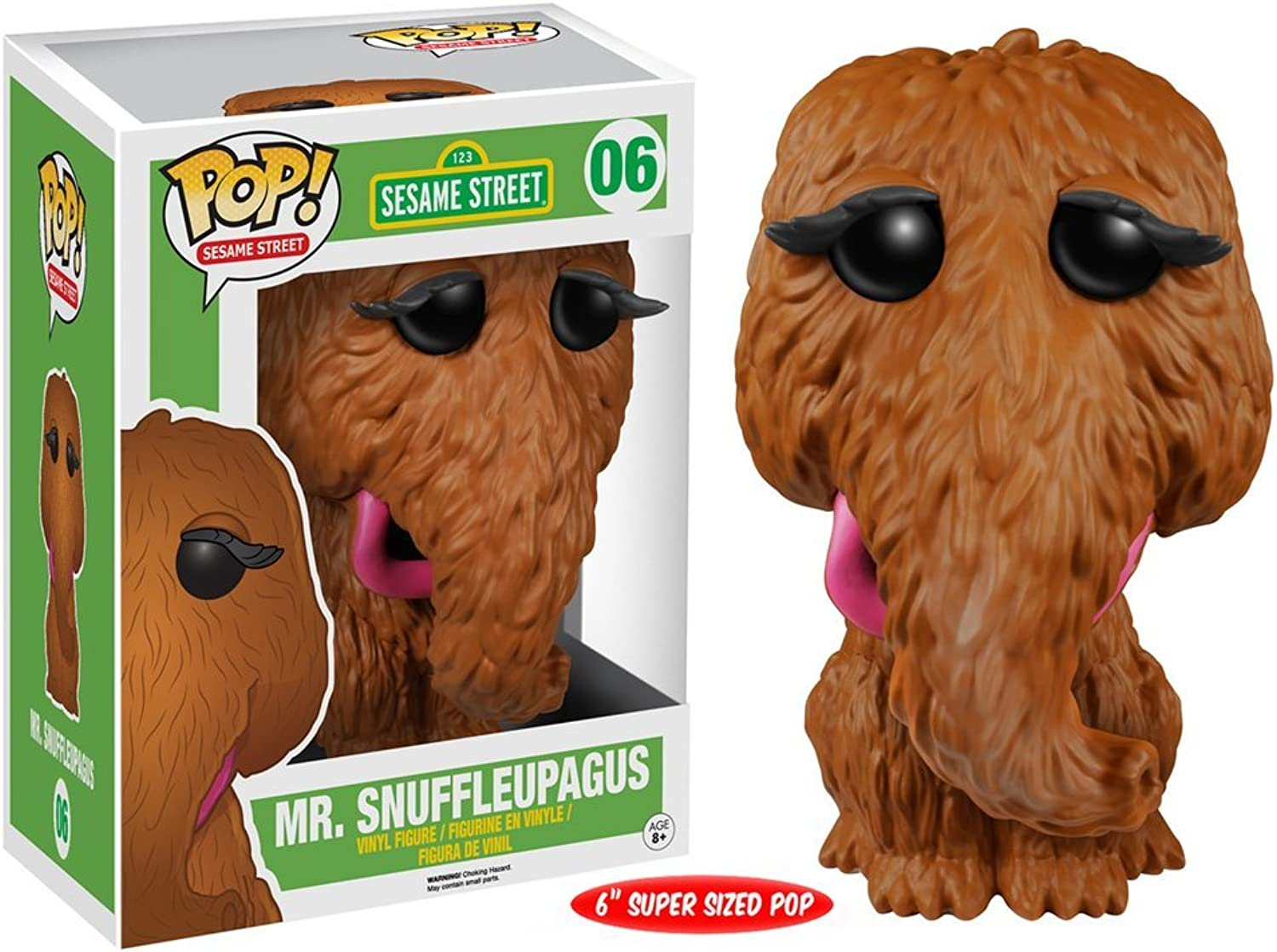 2016 Funko POP  TV Sesame Street MR. SNUFFLEUPAGUS  6 Vinyl 6  Deluxe Figure MIB