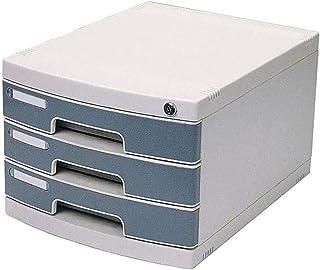 LIUYULONG Armoire de rangement de fichiers, armoire de bureau à tiroirs, armoire de bureau verrouillable, armoire de donné...