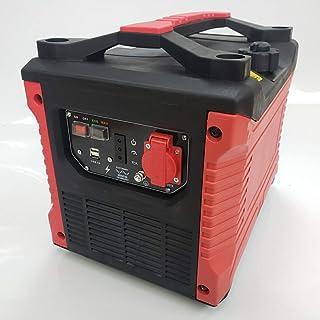 正弦波 インバータ発電機 1500w 100vコンセント 2A USB2ヶ所 搭載 耐震設計 コンパクト軽量 災害 キャンプ