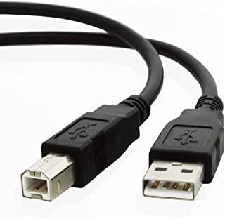 USB cable Lead Wire Cord C6518A for ALL HP Hewlett Packard, Epson Stylus, Brother, Canon Pixma, Lexmark, Scanjet, OfficeJe...