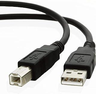 کابل USB سرب سیم کابل C6518A برای ALL HP Hewlett Packard، Epson Stylus، Brother، Canon Pixma، Lexmark، Scanjet، OfficeJet، Inkjet، Picturemate، Photosmart، Laserjet، Deskjet Scanjet Laser Printer