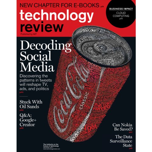 Audible Technology Review, November 2011 audiobook cover art