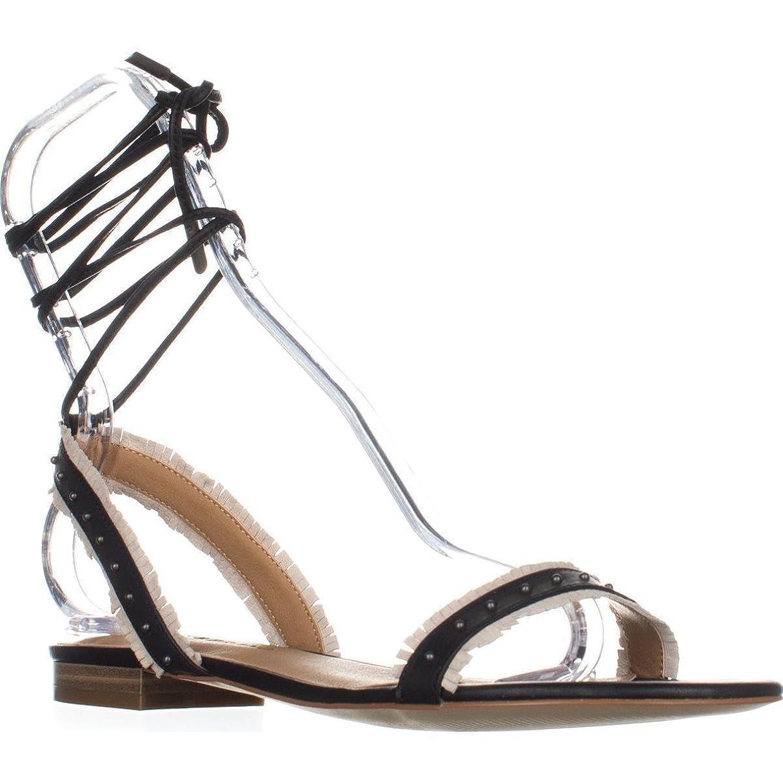 差し引くピカリングしわLucky Brand Womens toree Open Toe Casual Flat Sandals