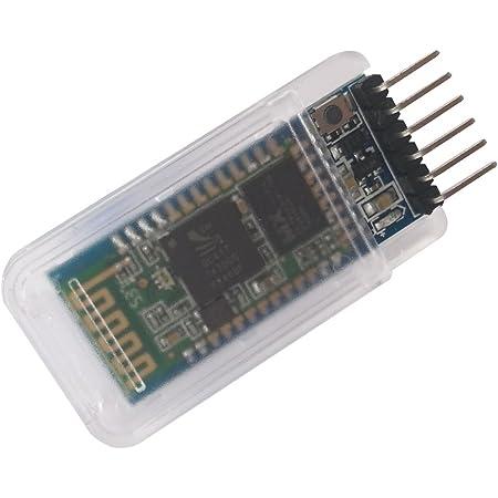 DSD TECH HC-05 Bluetooth Serial Pass-through Module Wireless Serial Communication with Button for Arduino