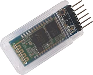 DSD TECH HC-05 Bluetooth Serial Pass-through Module Wireless Serial Communication with Button for Arduino