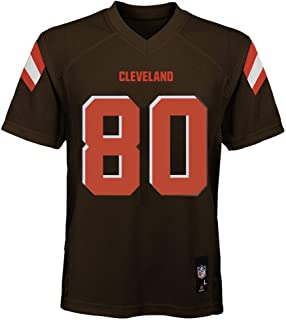Outerstuff Jarvis Landry Cleveland Browns NFL Youth 8-20 Brown Home Mid-Tier Jersey