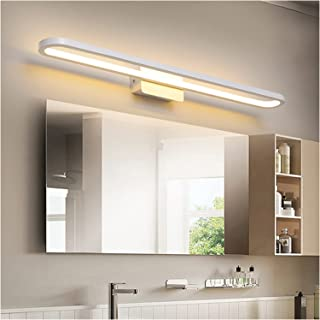 Simple 41/51/61/71cm Mirror Front Lights, Creative White Home Hotel Energy Saving Bathroom Waterproof Fog Moisture-Proof M...