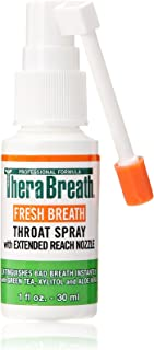 Dr. Harold Katz Fresh Therabreath Throat Spray, 1 Ounce(Pack of 3)