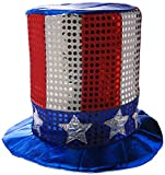 Glitz 'N Gleam Uncle Sam Top Hat Party Accessory (1 count)