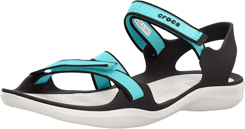 Crocs Women's New Shipping Free Swiftwater Super intense SALE Webbing Sandal