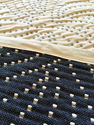 Hagemann Hochwertiger Bettüberwurf Thais beige/anthrazit doppelseitig, 220х250 cm