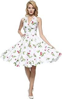 Women's 1950s Vintage Rockabilly Dress