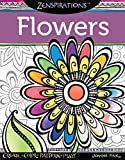 Zenspirations (R) Coloring Book Flowers: Create, Color, Pattern, Play! (Design Originals) 30 Whimsical Floral Designs, Easy-to-Follow Artistic Advice, and Finished Examples from Designer Joanne Fink
