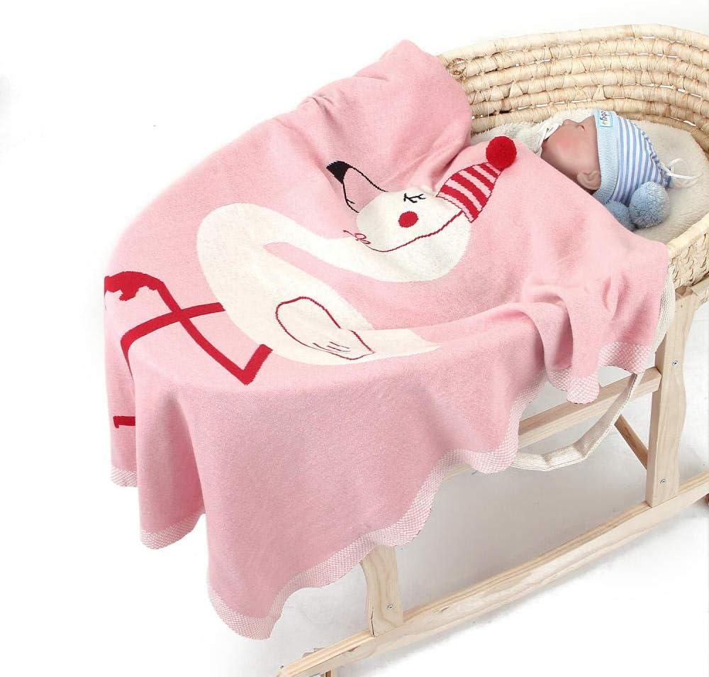 Hiver Couvertures bébé nouveau-nés Épaissir Flanelle Swaddle Couverture bébé Chaud bébé Swaddle Wrap Soft Couverture nouveau-né brodé hui