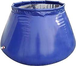 XBSXP Seau de Stockage d'eau extérieur de Grande capacité avec Robinet, Support de Stockage d'eau pour conteneur de Stocka...