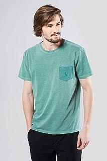 Camiseta Bolso Limo Pica-pau Bordado Reserva