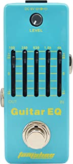 Guitar EQ Analog 5-Band Equalizer Electric Guitar Effect Pedal Mini Single Effect with True Bypass (AEG-5)
