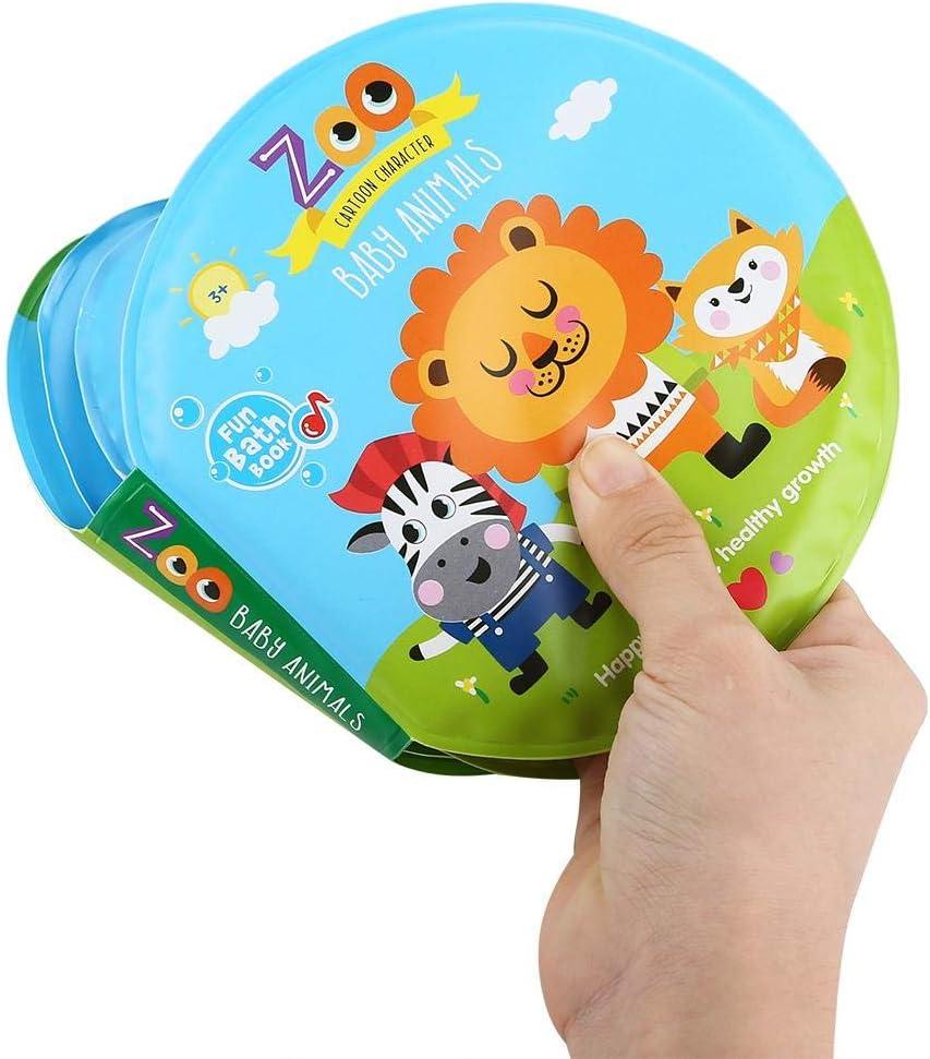Mar Zouminyy Baby Bath Book Baby Shower Toy Juguetes de educaci/ón temprana para la Hora del ba/ño